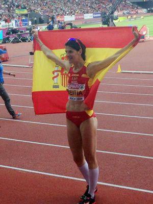Beitia revalida su título de campeona de Europa