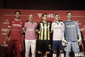 Fotos e imágenes de la presentación de las equipaciones del Real Zaragoza 2015-16