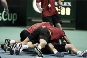 Ya está definido el equipo belga para la final de Copa Davis