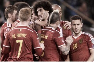Belgium 5-0 Cyprus: Five star Belgium sink hopeless Cypriots