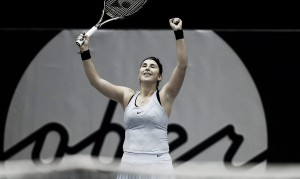 Belinda Bencic happy to compete in WTA tournaments once again