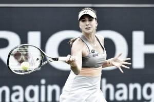 WTA s-Hertogenbosch: Belinda Bencicmarks comeback with a victory against Alison Van Uytvanck