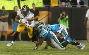 Categórico triunfo de los Steelers en Carolina