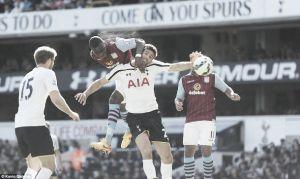 Tottenham 0-1 Aston Villa: Benteke goal enough for three points on Sherwood's spurs return
