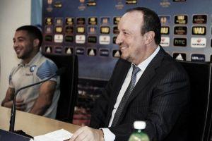 """Napoli, Benitez: """"Pensiamo sempre alla vittoria, arriveremo in fondo"""""""