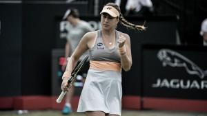 WTA s-Hertogenbosch: Belinda Bencic returns, top seeds advance on day two