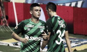 """Nicolás Benedetti """"Lo venía buscando, gracias a Dios se me pudo dar el gol"""""""