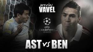 Astana - Benfica: otra vez toca reivindicarse