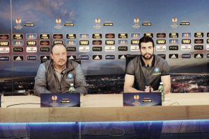 """Benitez a testa alta: """"Giocando così si va avanti. Dinamo? Squadra di livello"""""""