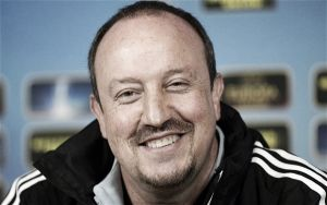 Napoli v Lazio - Benitez aims to leave Napoli in the Champions League
