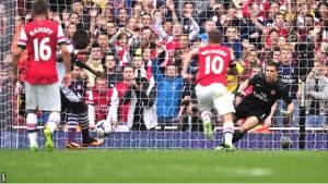 El Arsenal se estrella contra un Aston Villa eficaz