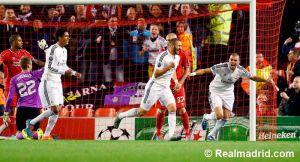"""Benzema: """"Estoy muy contento, fue difícil pero hicimos un gran trabajo"""""""
