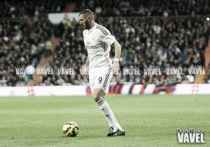 Benzema marca 20 goles en una temporada por quinta vez consecutiva