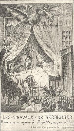 Los duendes de la locura: Berbiguier y los farfadets