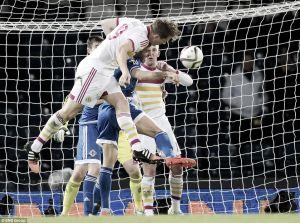 Scotland 1-0 Northern Ireland: Berra heads home late winner