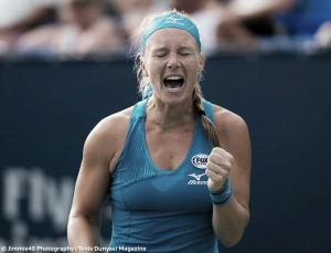 WTA Rogers Cup: Kiki Bertens stuns Petra Kvitova in straight sets