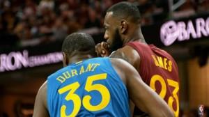 Após cinco anos, Kevin Durant e LeBron James se reencontram nas finais da NBA