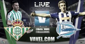Real Betis - Alavés en directo online