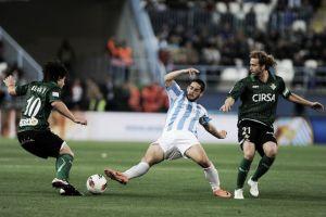 Resultado Málaga - Betis en la jornada 12 de la Liga BBVA temporada 2013/2014