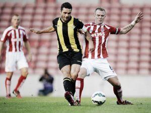 El Stoke City es demasiado rival para un Betis falto de puntería