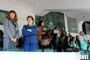 Espectacular afluencia de mujeres en el Benito Villamarín
