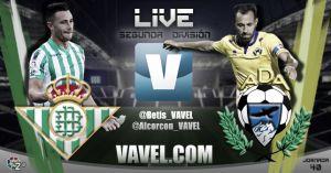 Betis - Alcorcón en directo online en Segunda División 2015