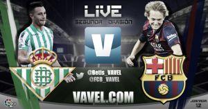 Real Betis - Barcelona B en directo online