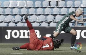 El Real Betis Féminas tropieza en su estreno liguero