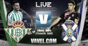 Betis - Tenerife en directo online