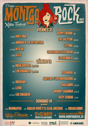 El Montgorock Xàbia Festival publica sus horarios y ultima los detalles para su nueva edición