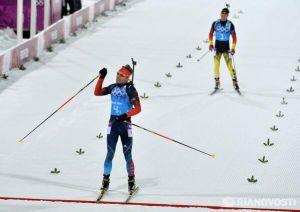 La Russie remporte l'or à la maison