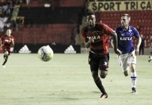 Com participação direta nos três gols do Sport, Lenis revela sensação de dever cumprido