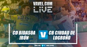 Resumen Bidasoa Irún vs CB Ciudad de Logroño (27-25)