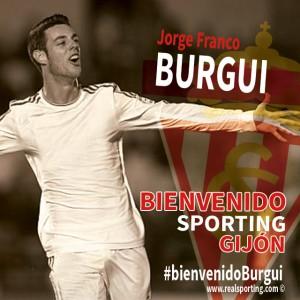 """José Franco """"Burgui"""", quinto fichaje rojiblanco"""