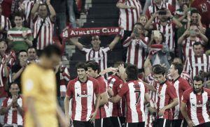 Athletic Bilbao 4-0 Barcelona: Bilbao shock treble winners in first leg of Supercopa