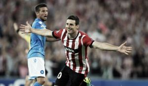 Athletic Bilbao 3 (4) - 1 (2) Napoli: Basques brush aside Neapolitans
