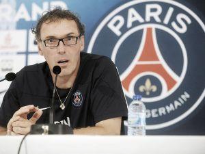 """Laurent Blanc: """"El Caen es un equipo que está en forma y con confianza"""""""