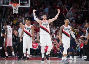 NBA - I 26 punti di Lillard guidano i Trail Blazers alla vittoria casalinga sui Pacers