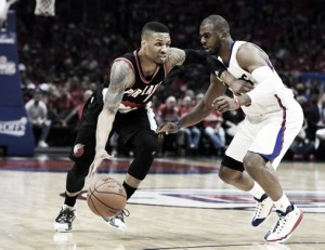Los Angeles Clippers spurn Portland Trail Blazers in Game 1, 115-95