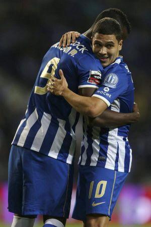 Con gol de Jackson y asistencia de Quintero, Porto goleó y aseguró su cupo para la próxima Champions League