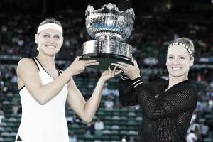 Australian Open: Bethanie Mattek-Sands and Lucie Safarova captures second Australian Open title