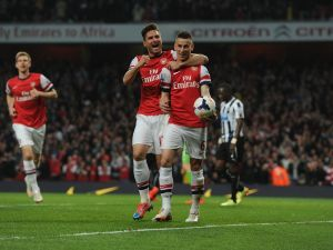 Arsenal prend une option sur la Ligue des Champions