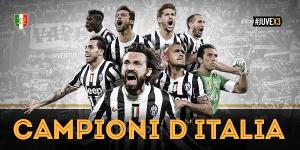 La Juventus officiellement championne d'Italie