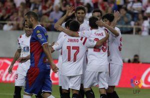 El Sevilla cierra su fiesta a ritmo de goles