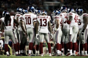 Giants release first depth chart of 2016