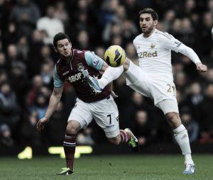 West Ham United - Swansea City: a Europa solo puede ir uno