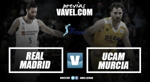 Real Madrid - UCAM Murcia: Lucha de gigantes en el WiZink Center