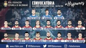 """Jordi Ribera cita a 19 """"Hispanos"""" para preparar el Europeo"""