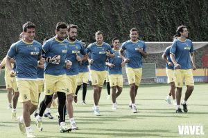 Paco Herrera desplaza 19 jugadores a Girona