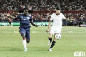 Fotos e imágenes del Sevilla FC 1-0 Olympique de Lyon de la Jornada 2 de la Champions League